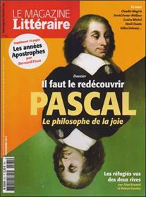 Le Magazine Litteraire N°561 Pascal  Novembre 2015