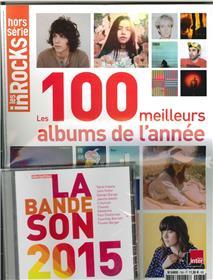 Les Inrocks Hs N° 76  Les 100 Meilleurs Albums De L´Annee 2015  Dec.2015