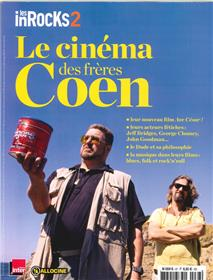 Les Inrocks2 Hs N° 67  Le Cinema Des Freres Coen  Janvier 2016