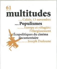 Multitudes N°61 Populismes Hiver 2015