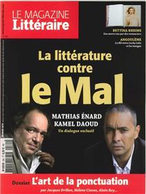 Le Magazine Litteraire N°564 - La Litterature Contre Le Mal - Fevrier 2016