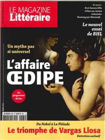 LE MAGAZINE LITTERAIRE N°565 lL AFFAIRE OEDIPE  MARS 2016