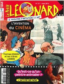 Le Petit Leonard N°211 L´Invention Du Cinema Mars 2016