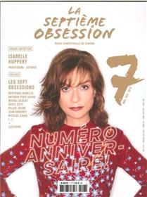 La Septieme Obsession N°7 Isabelle Huppert Novembre/Decembre 2016