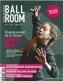 Ballroom N°11 Enseignement De La Danse Episode 1 Septembre/Novembre 2016
