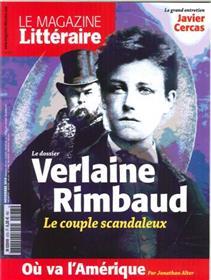 Le Magazine Litteraire N°573 Verlaine Rimbaud Novembre 2016