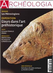 Archeologia N°547 L Ours Dans L Art Prehistorique  Octobre 2016