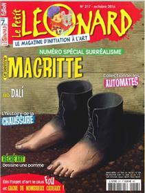 Le Petit Leonard N°217 Magritte Octobre 2016