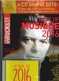 Les Inrocks Hs N°  82  Les 100 Meilleurs Albums De L´Annee 2016 Decembre 2016