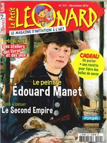 Le Petit Leonard N°219 Edouard Manet Decembre 2016
