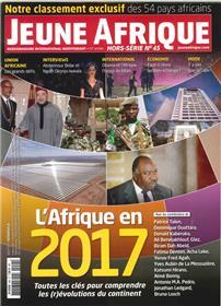 Jeune Afrique Hs N° 45  L´Afrique En 2017