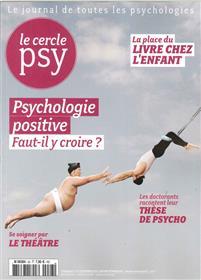 Le Cercle Psy N°23 Psychologie Positive Decembre/Janv/Fevrier 2016/2017
