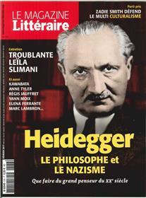 Le Magazine Litteraire N°576 Heidegger  Fevrier 2017