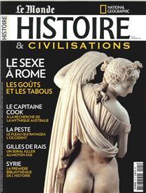 Histoire & Civilisations N°25 Le Sexe A Rome  -Fevrier 2017