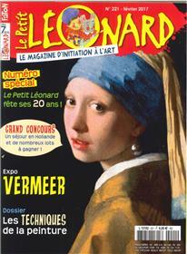 Le Petit Leonard N°221 Exposition Vermeer Fevrier 2017