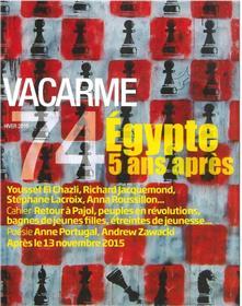 Vacarme N°74 Egypte 5 Ans Apres Hiver 2016