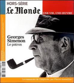 Georges Simenon - Le Monde Hors-Serie Une Vie, Une Oeuvre N°23
