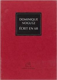 Ecrit En 68