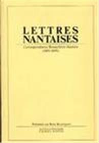 Lettres Nantaises (Correspondance Brunellière-Hamon 1891-1899)