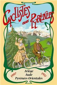 Cyclistes Aux Pyrenees 1907-1911