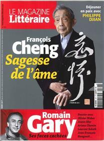 Magazine Litteraire N°577 Francois Cheng Sagesse De L Ame  Mars 2017