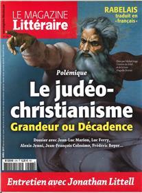 Le Magazine Litteraire N°578 Le Judeo-Christianisme Avril 2017