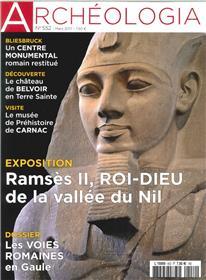 Archeologia N°552 Rames Ii Roi Dieu  Mars 2017