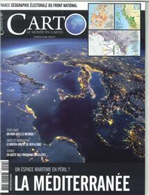 Carto N°40 La Mediterranee  Mars/Avril 2017