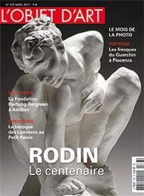 L´Objet D´Art N°533 Rodin Le Centenaire  Avril 2017