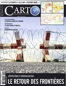 Carto N°41 Le Retour Des Frontieres  Mai/Juin 2017
