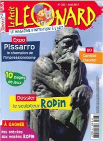 Le Petit Leonard N°223 Rodin Avril 2017