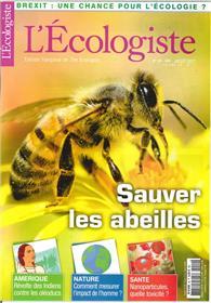 L´Ecologiste N°49  Sauver Les Abeilles Printemps 2017