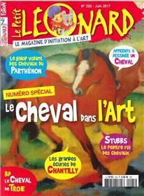 Le Petit Leonard N°225 Le Cheval Dans L´Art Juin 2017