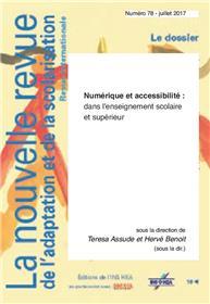 Nras 78. Numerique Et Accessibilite Dans L´Enseignement Scolaire Et Superieur