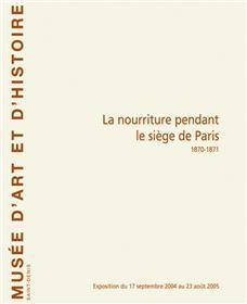 La Nourriture Pendant Le Siège De Paris