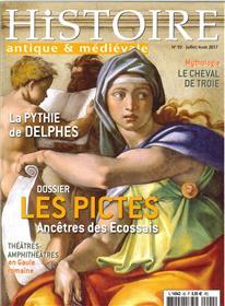 Histoire Antique Et Medievale N°92 Les Pictes Juillet/Aout 2017