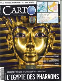 Carto N°42 L Egypte Des Pharaons  Juin/Juillet 2017