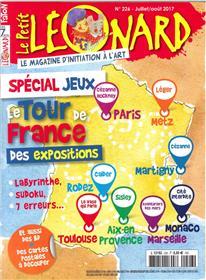 Le Petit Leonard N°226 Le Tour De France  Juillet/Aout 2017