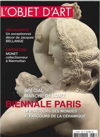 L´Objet D´Art N°537 Special Biennale Septembre 2017