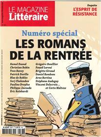 Le Magazine Litteraire N°583 Romans Rentree Septembre 2017