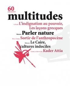 Multitudes - 60  - Parler Nature - Automne 2015