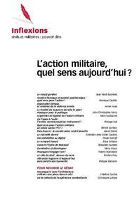 Inflexions N°36 Le Sens De L´Action Militaire Aujourd´Hui Septembre 2017