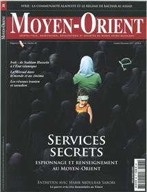 Moyen-Orient N°36  Les Services Secrets - Octobre/ Decembre 2017
