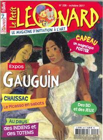 Le Petit Leonard N°228 Gaston Chaissac Octobre 2017