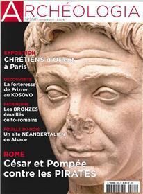 Archeologia N°558 Cesar Et Pompee Contre Les Pirates  Octobre 2017