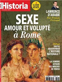 Historia Mensuel N°851 Sexe Amour Et Volupte A Rome Novembre 2017