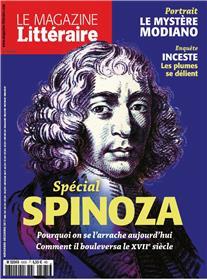 Le Magazine Litteraire N°585  Spinoza Novembre  2017