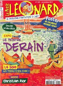 Le Petit Leonard N°229 Derain Novembre 2017