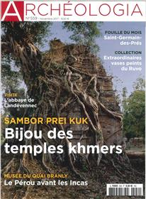 Archeologia N°559 Bijou Des Temples Khmers  Novembre 2017