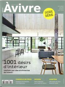 Architectures A Vivre Hs N°37 1001 Desirs D Interieur  Decembre 2017